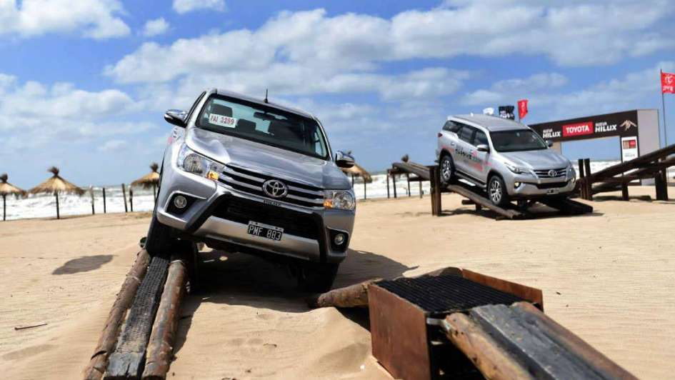 Toyota veranea en Pinamar