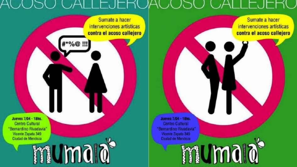 Teatro y afiches para evitar el acoso callejero