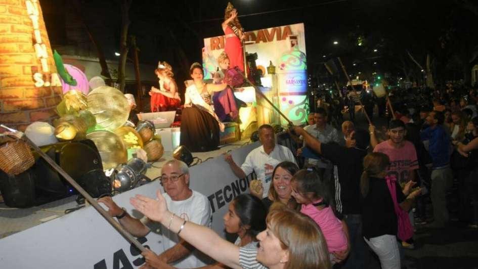 Vía Blanca desde el palco VIP de Los Andes