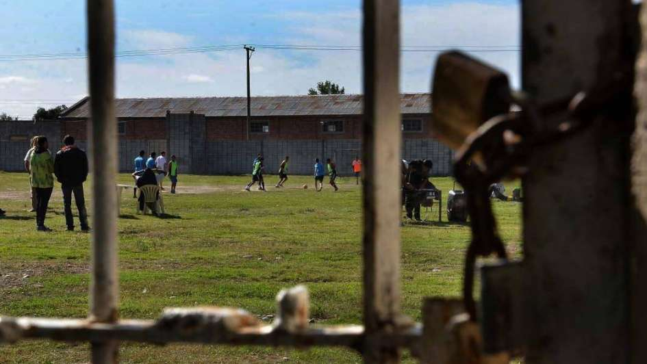 San Rafael: intercolegial de fútbol con internos del penal