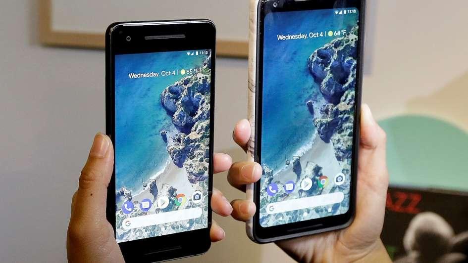 Google lanzó Pixel 2, su nuevo teléfono de alta gama para competir con Apple y Samsung