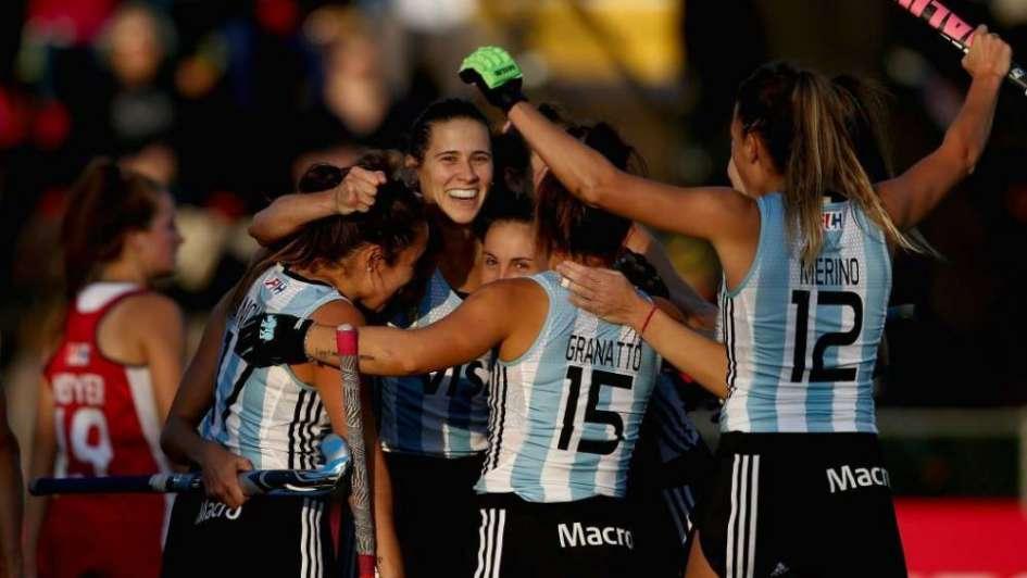 Las Leonas y un sólido triunfo frente a Estados Unidos por la Liga Mundial