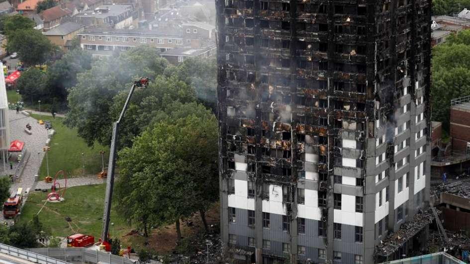 Ya son 79 los muertos en el incendio deLondres