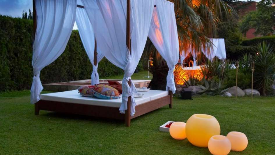 Terrazas y jardines chill out for Jardin chill out