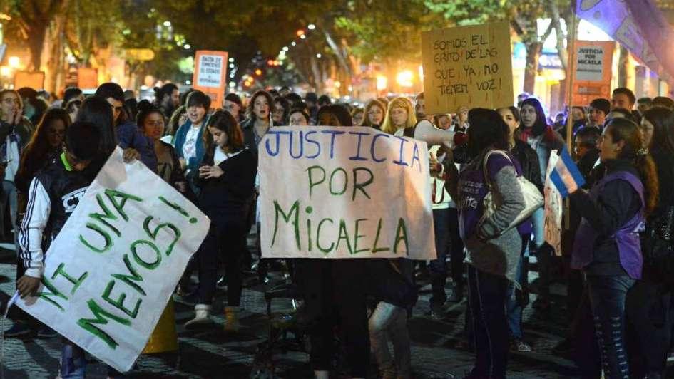 Conmoción nacional por el femicidio de Micaela García