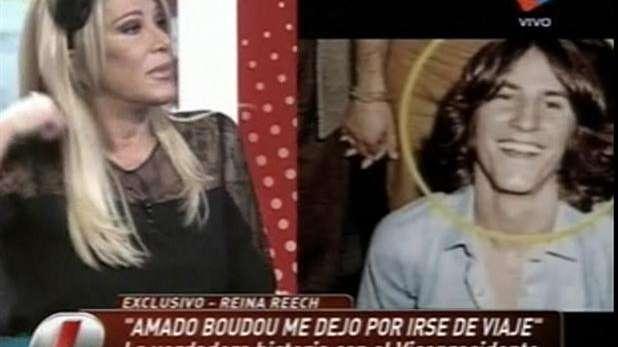 Reina Reech fue novia de Amado Boudou
