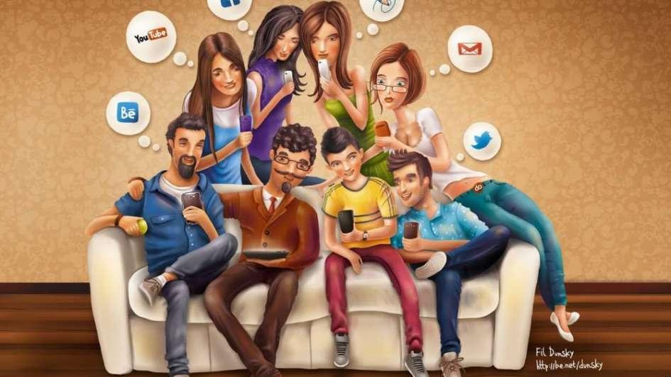 Hiperconectados: 4 de cada 10 personas en el planeta usa redes sociales