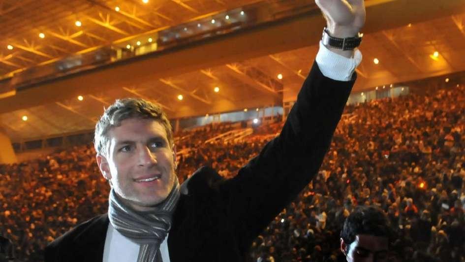 Martín Palermo aceptó ser el DT de Godoy Cruz