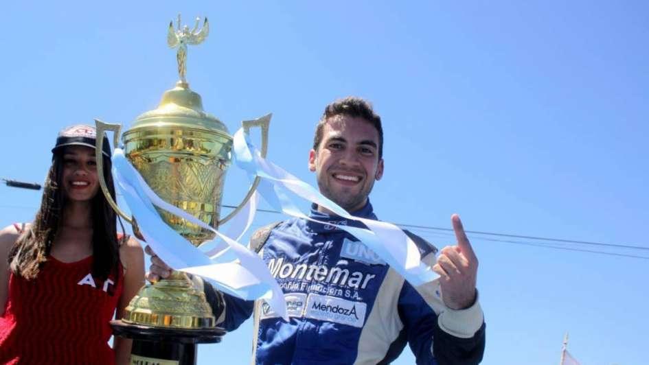 El mendocino Julián Santero se proclamó campeón del TC Mouras