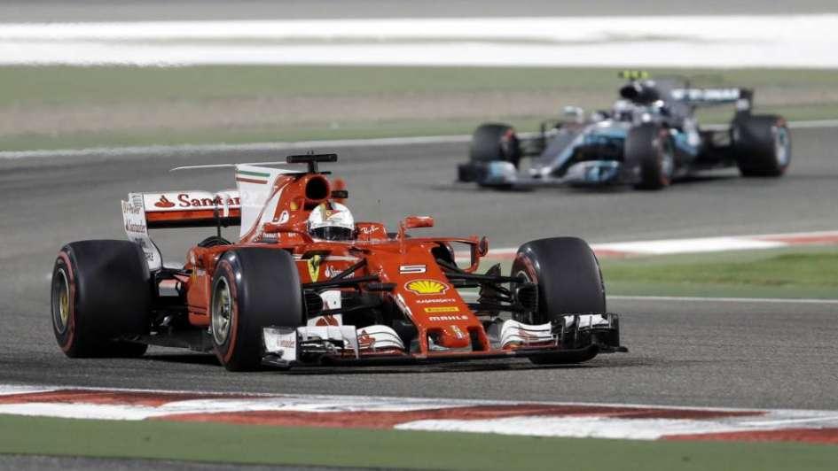 F1: Vettel ganó el GP de Bahréin y lidera el campeonato