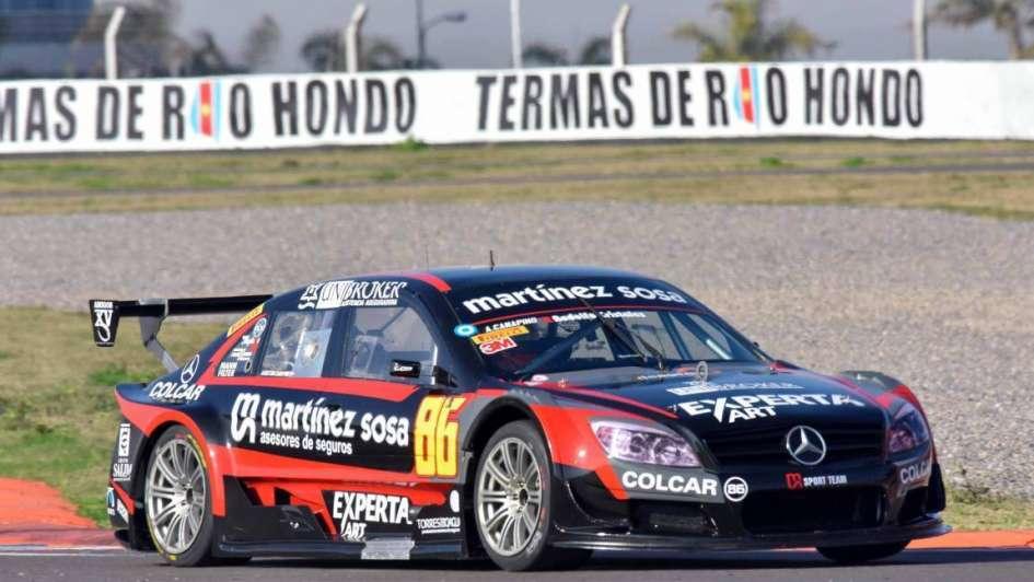 Top Race V6: Canapino fue el más veloz y Llaver quedó en el fondo