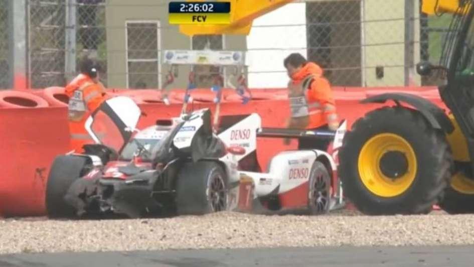 'Pechito' López fue hospitalizado tras sufrir un accidente en las 6 horas de Silverstone