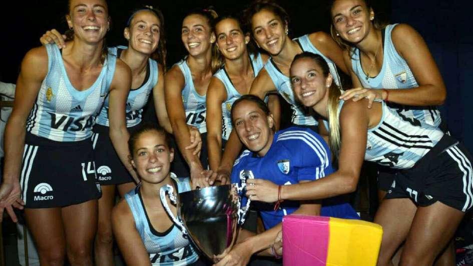 Con goles de Granatto, ganaron Las Leonas