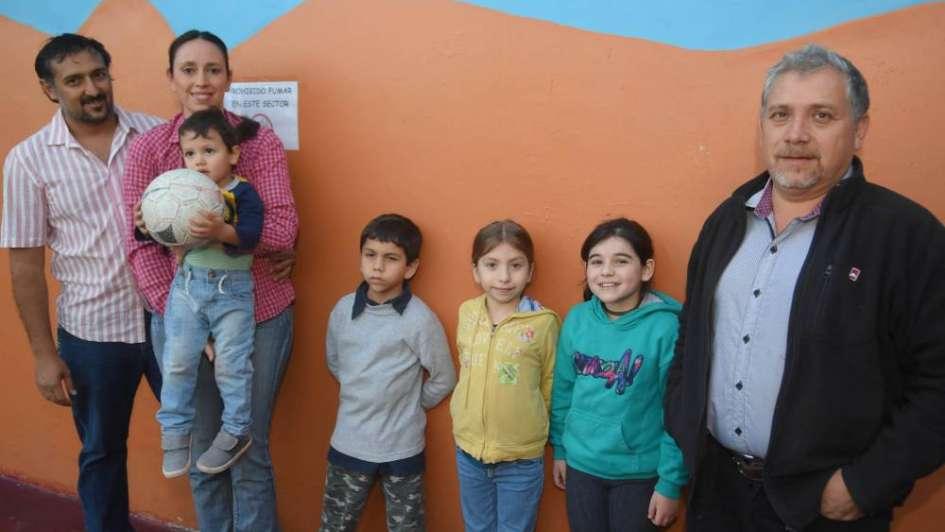 Niños de Los Andes, de festejo