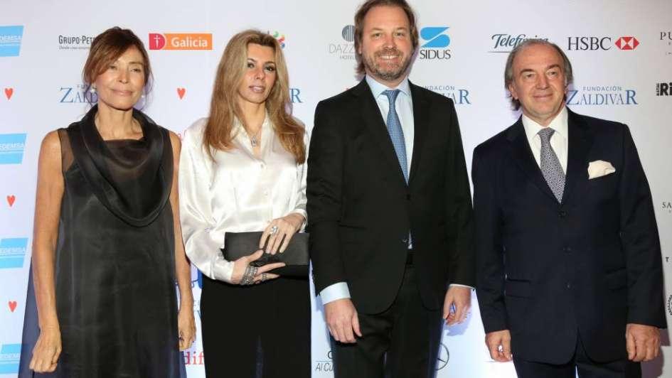 Postales de la gala de la Fundación Zaldivar llena de famosos