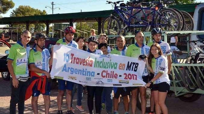 Travesía inclusiva hasta Talca, Chile  y en bicicleta