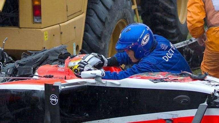Accidente en la F1: Bianchi, una familia maldita