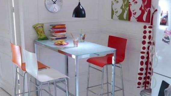 Comedores ideales para espacios pequeños