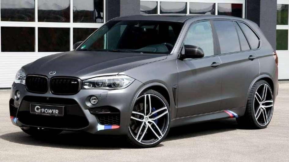 BMW X5M y X6M, los más potentes y rápidos  del mercado