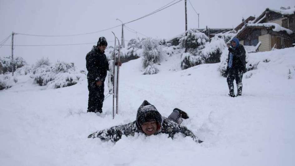 Centenares de varados en Bariloche por temporal