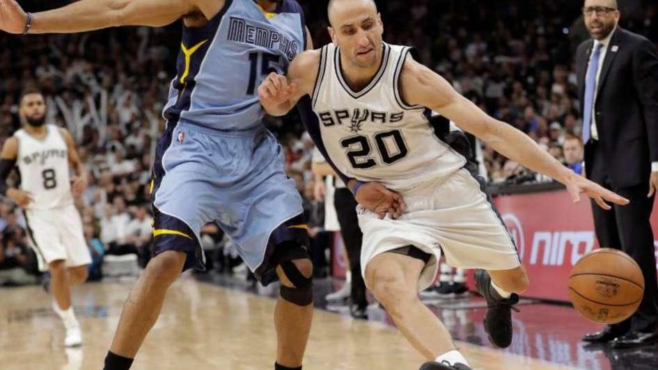 NBA: los Spurs volvieron a ganar con un Ginóbili sin puntos