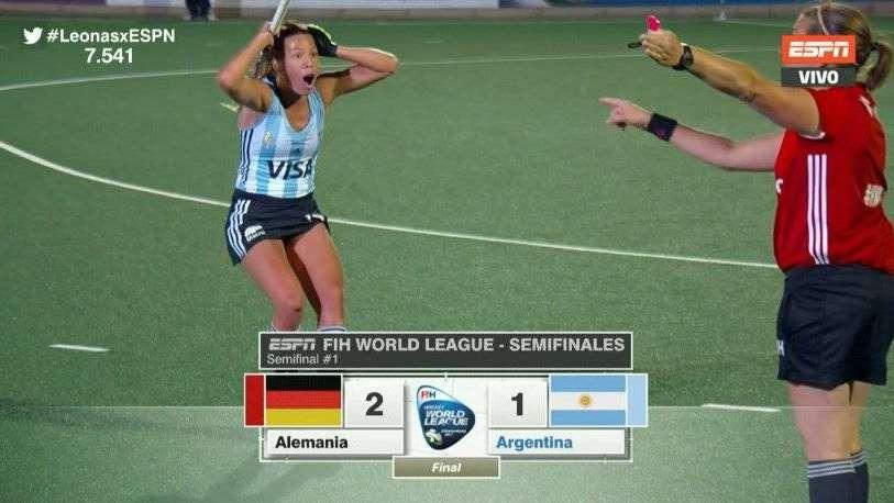 Tras un final polémico, Las Leonas perdieron en la semi de la Liga Mundial ante Alemania