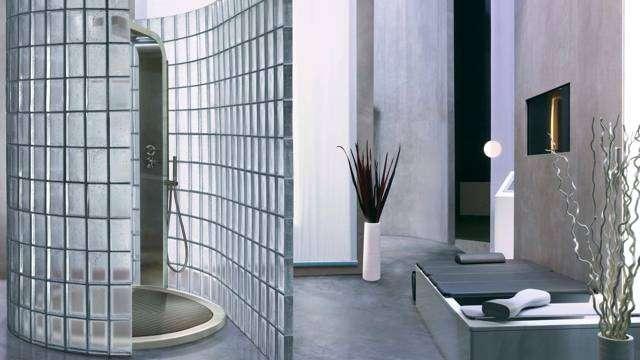 Ladrillos de vidrio cmo utilizarlos en tu bao