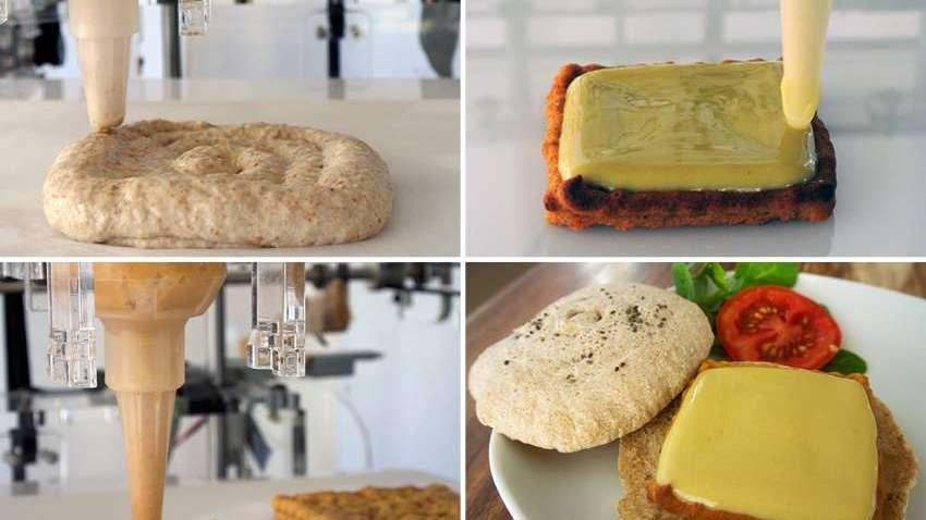 Hacé lugar en tu cocina porque se vienen las impresoras 3D de comida
