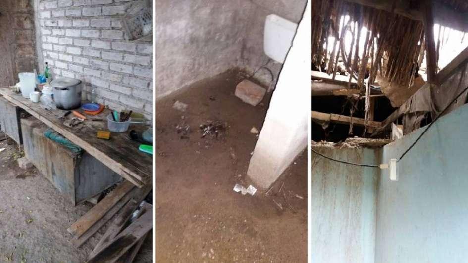 Rescataron a 14 obreros que vivían en galpón abandonado en Maipú