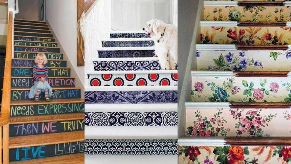 Deco ideas para pintar tu escalera for Decoracion de hogar interiores