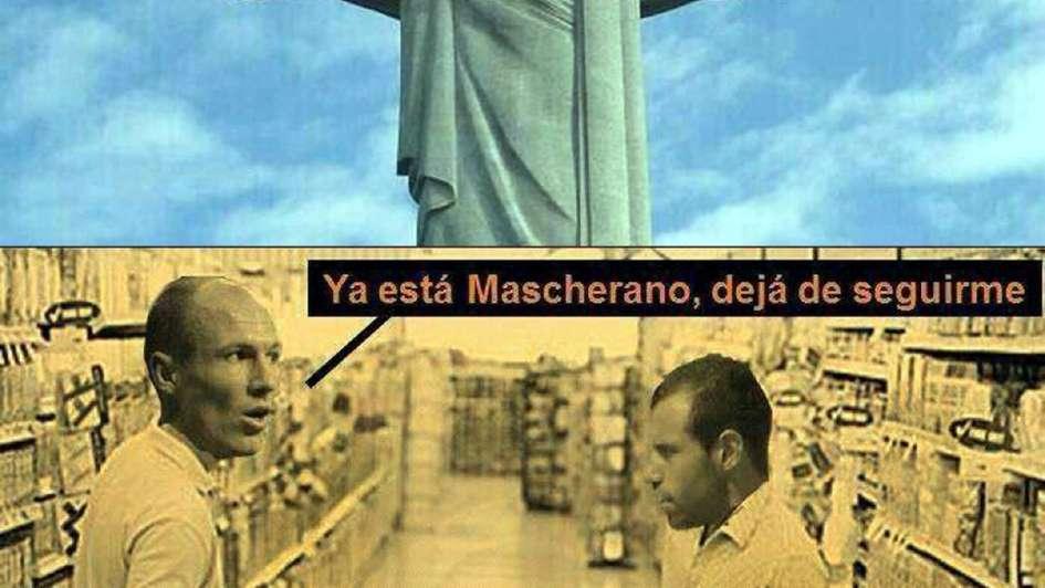 Mascherano, héroe nacional