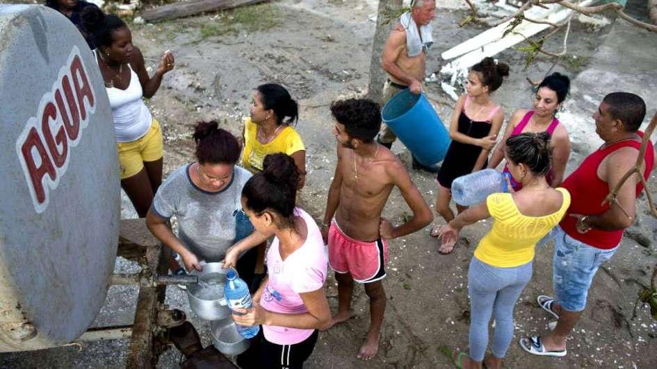 Cuba: electricidad, escuelas y agua, prioridades tras el huracán Irma