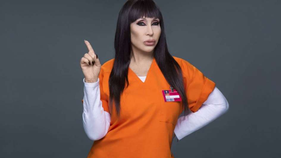 "Moria viaja a EEUU contratada por Netflix para ""Orange is the new Black"""