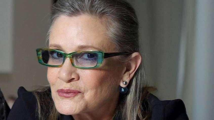Carrie Fisher descansará en una... ¡pastilla de Prozac!