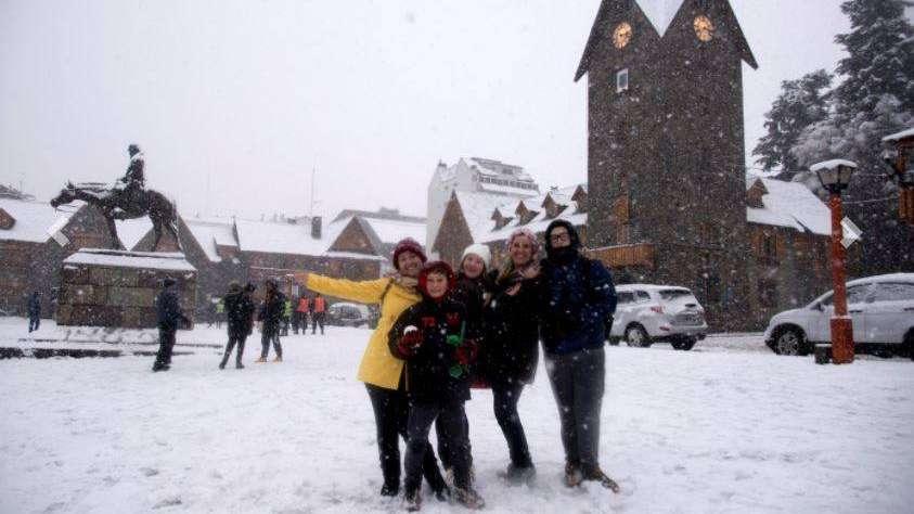 Frío extremo y récord en Bariloche: 25.4 grados bajo cero