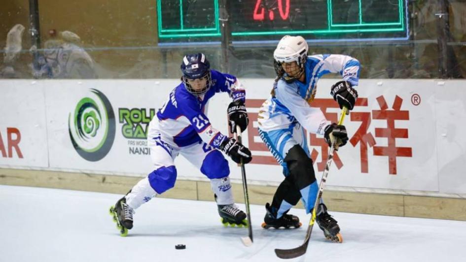 WRG: la selección argentina de hockey in line ganó y se mete en el top ten