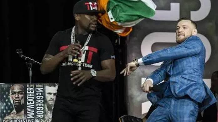 Lo que faltaba: McGregor le ganó a Mayweather el duelo de insultos y palabrotas