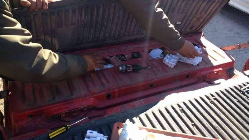 Secuestraron en Uspallata un cargamento de celulares valuado en $600 mil