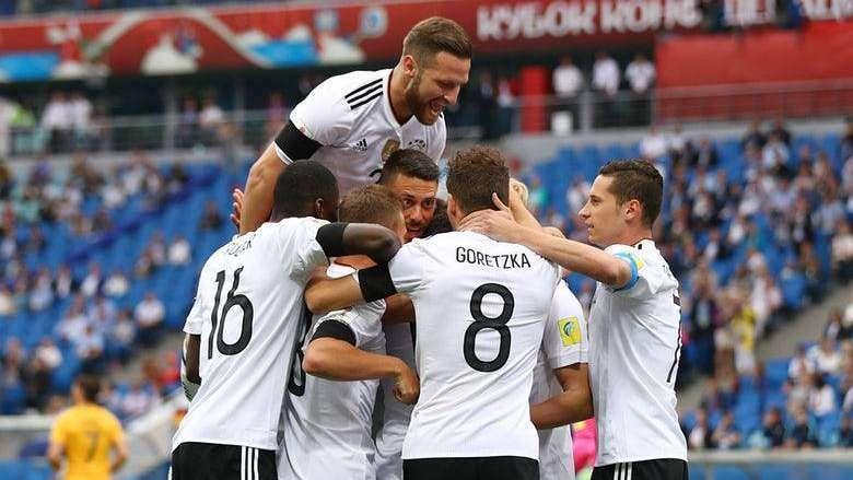 Copa Confederaciones: la renovada Alemania venció a Australia en el debut