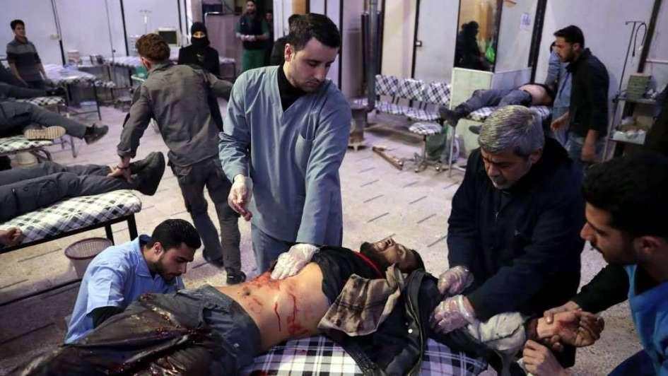 Violentos combates tras una ofensiva rebelde en Siria