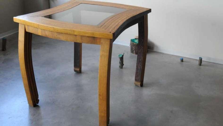 Muebles con esencia de vino