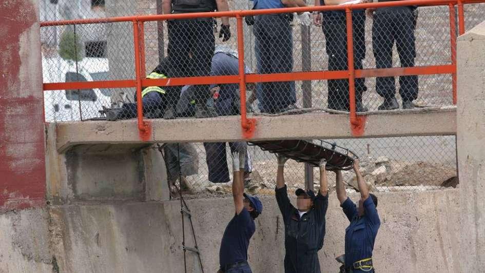 Encontraron el cadáver de un hombre en un canal en Las Heras