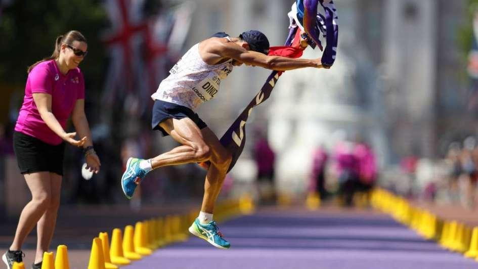 Mundial de Atletismo: el francés Diniz se proclamó campeón de 50 km marcha