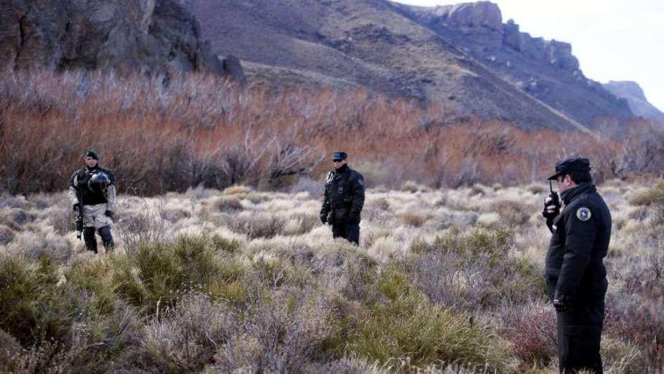Caso Maldonado: ya se rastrillaron 5 kilómetros del recorrido del río Chubut