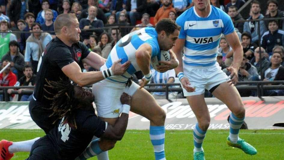 Rugby: otra derrota de Los Pumas frente a Inglaterra