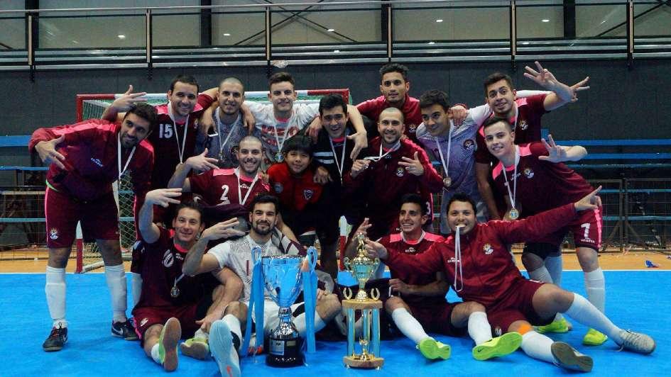 Los tricampeones del Futsal