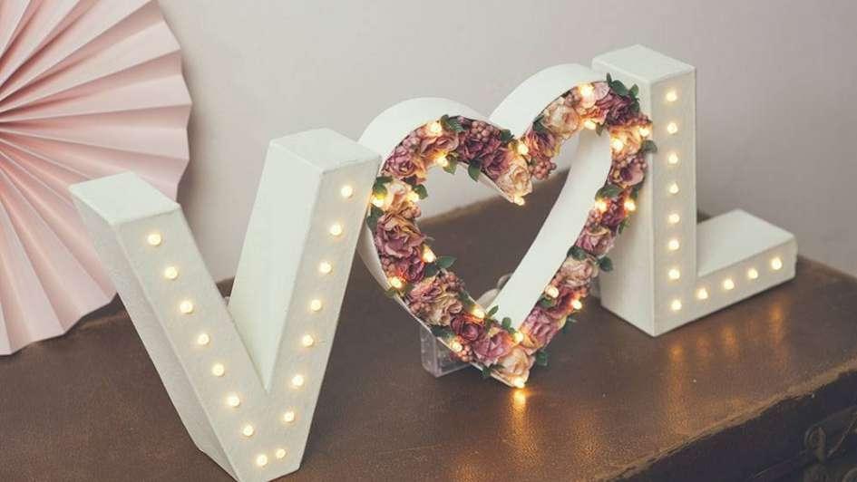 C mo hacer letras luminosas para decorar - Letras luminosas decoracion ...