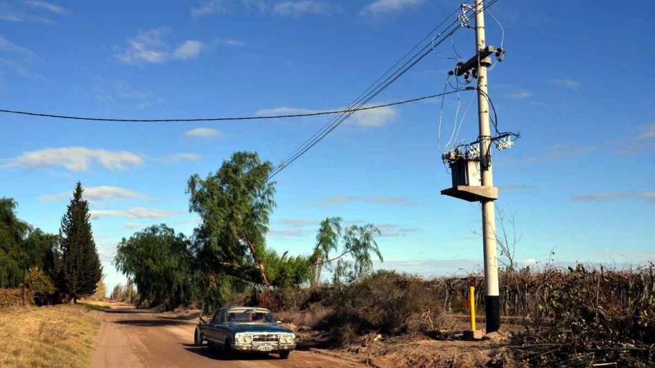 Martín: energía eléctrica para 15.000 has de campo