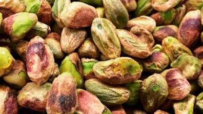 El pistacho, especialísimo para platos salados o pastelería.