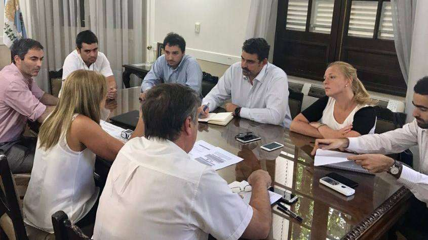 Montero gobernadora: con Cornejo en Cuba, ya mantuvo reuniones con Hacienda